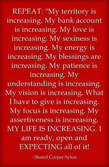 Declare Increase